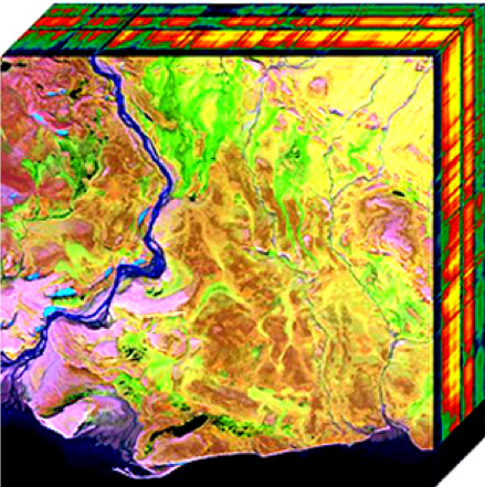 Hyperspectral Data Cube